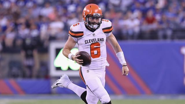 Preseason, Week 1: Mayfield fa sognare i Browns, Johnson incubo per i Giants. Chi sale e chi scende