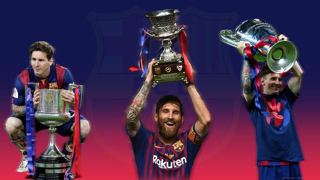 Brilliant Lionel Messi Breaks Barcelonas All Time Trophy Record
