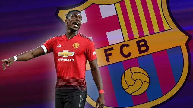 Euro Papers: Barcelona initiate 'Project Unsettle Paul Pogba'