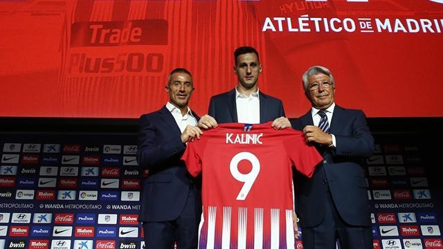 """Kalinic: """"Griezmann y Costa son de los mejores delanteros de Europa"""""""
