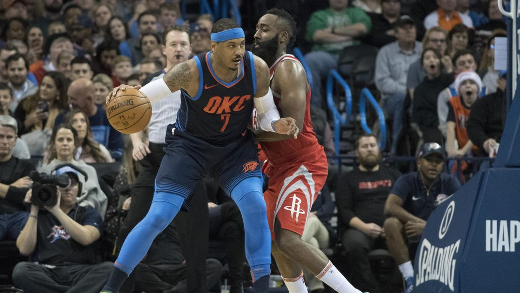 NBA: Anthony wechselt zu den Houston Rockets - Basketball ...