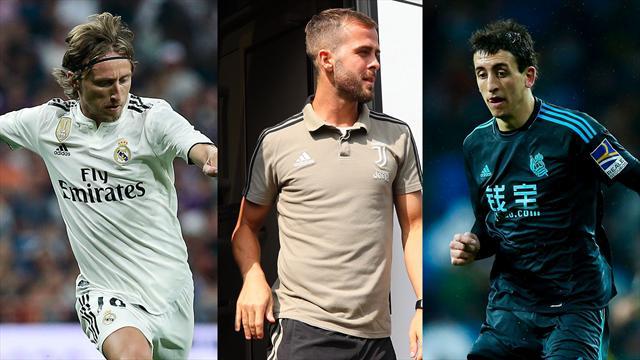La amenaza del agente de Modric al Madrid, Pjanic y Oyarzabal, los nombres del día