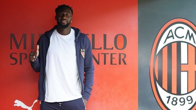«Милан» арендовал Бакайоко сопцией выкупа за35 млн. евро