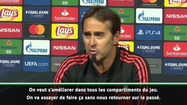 """Lopetegui : """"Ce qu'a fait Zidane appartient maintenant au passé"""""""