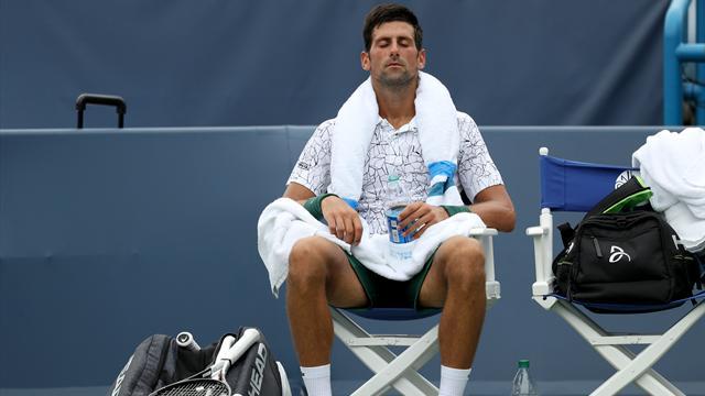 Bousculé, Djokovic s'en sort face à Mannarino