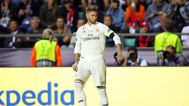 La nouvelle célébration de Sergio Ramos en mode Conor McGregor