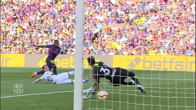 Trophée Gamper - Le but de Malcom pour le Barça