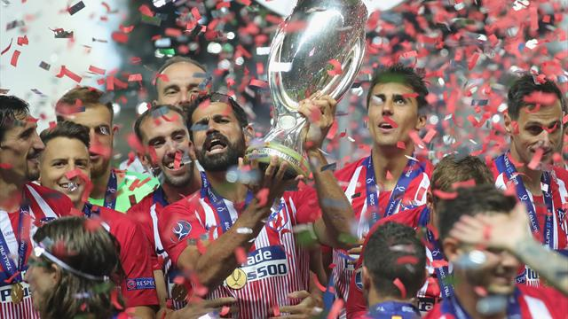 Atletico hit Real for four to win Super Cup