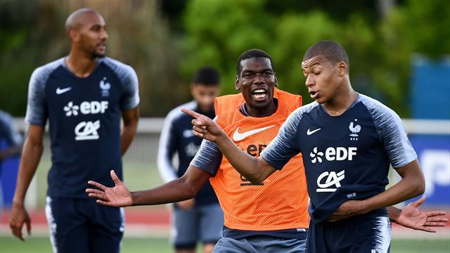 Kanté imberbe, «Ray Charles Rami» et Mbappé tricheur : la FFF dévoile un zapping inédit des Bleus