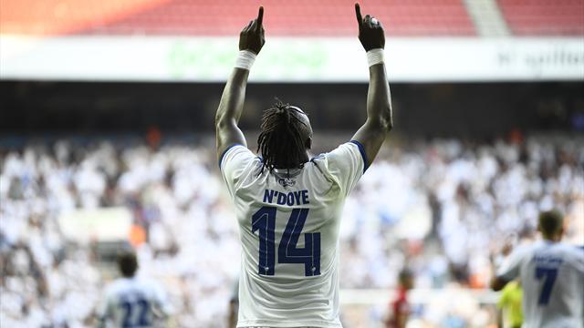 Highlights: N'Doye scorede både i offside- og onside-position i FCK-sejr