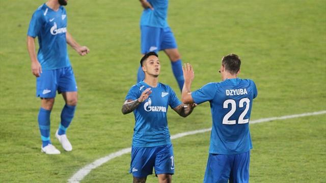 Zenit, 8 golle turladı