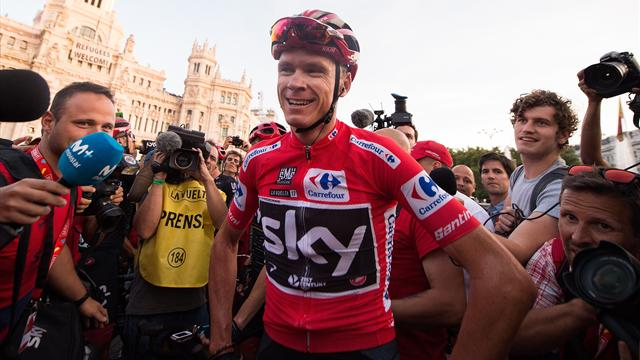 With Froome absent, Quintana favored to win Spanish Vuelta