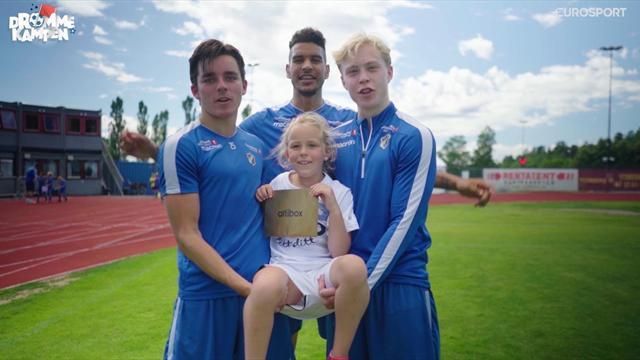 Drømmekampen: Marie (8) fikk gullbillett av Stabæk-heltene
