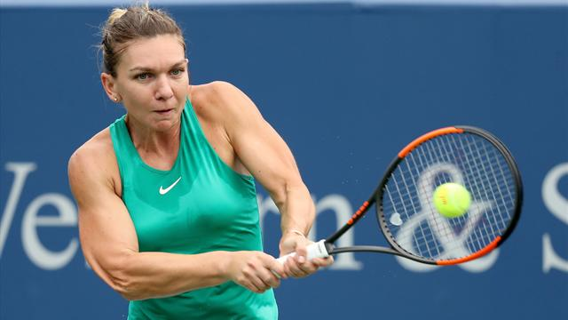 Halep overcomes Barty to move into quarter-finals