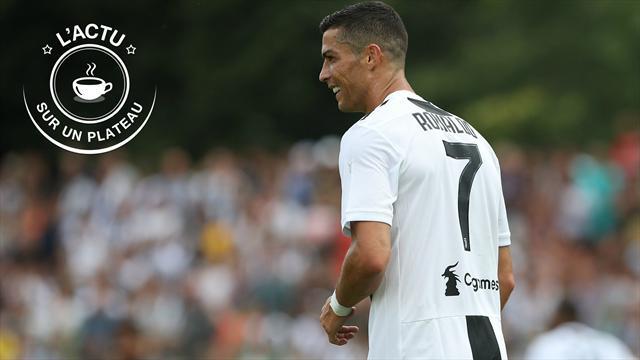 Ronaldo, Federer, Djokovic, Mbappé : l'actu sur un plateau