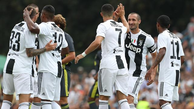 Dopo 320 minuti in Serie A, arriva il primo gol di Cristiano Ronaldo con la Juventus