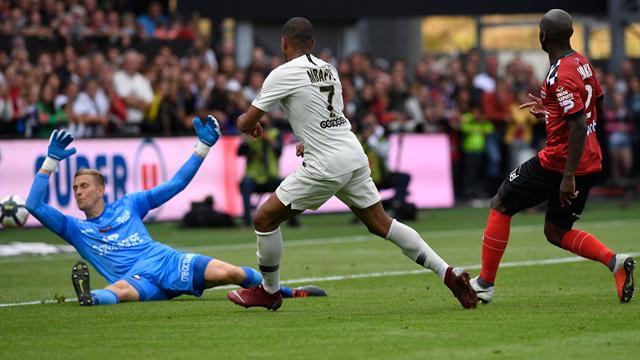 Ligue 1, Guingamp-PSG: Mbappé lideró la remontada (1-3)