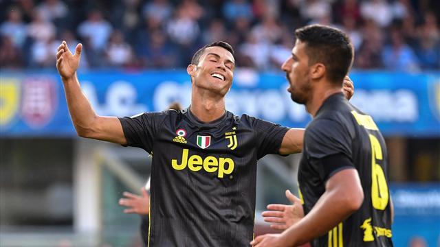 Ronaldo frustré mais la Vieille Dame a réussi sa rentrée