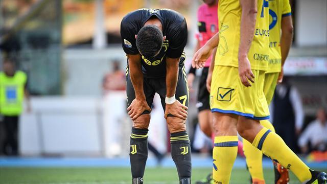 Ronaldo a beaucoup tenté mais n'a pas marqué : son premier match avec la Juve en images