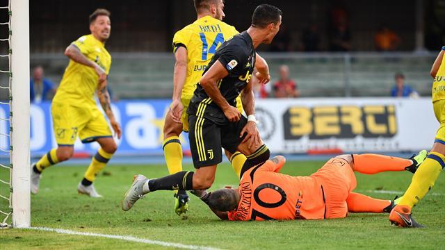 Ronaldo fait une première victime en Serie A