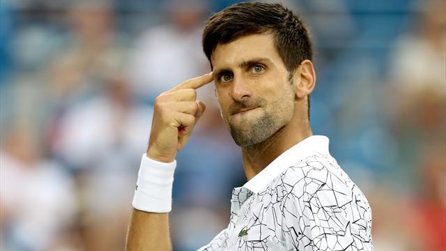 Djokovic a mis dans le mille