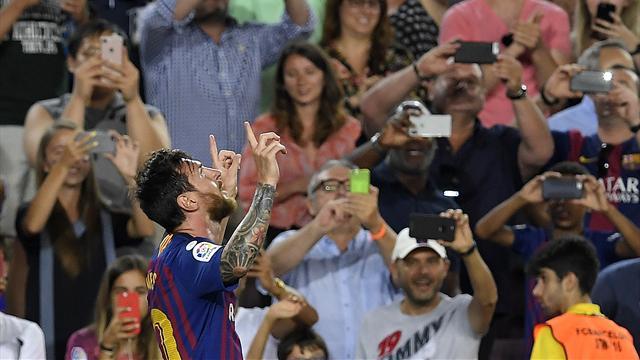 Messi et le Barça ont vite repris leurs marques