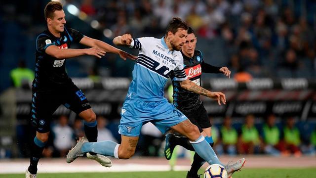 Napoli-Lazio: probabili formazioni e statistiche