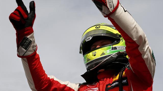 Sieg und Platz fünf für Mick Schumacher