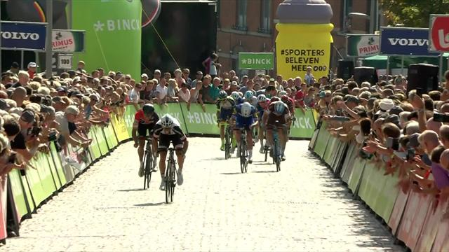 BinckBank Tour: Matthews triunfa en la última etapa; Mohoric se lleva la general