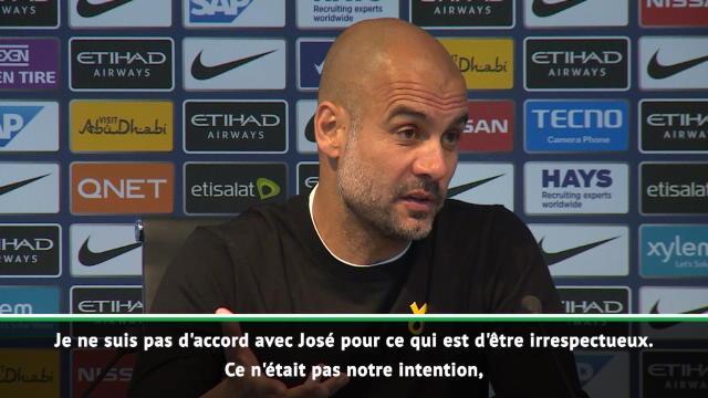 José Mourinho pique City : 'La classe ne s'achète pas'