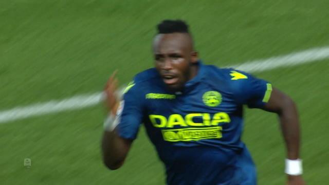 1ère j. - L'ancien Bastiais Seko Fofana offre le nul à l'Udinese
