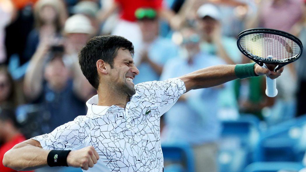 save off aff2e 6c3eb Djokovic riscrive la storia  suo Cincinnati, Federer ko. Il serbo completa  la collezione  Masters  - ATP, Cincinnati Masters 2018 - Tennis - Eurosport