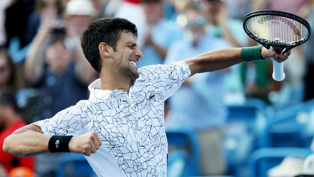 Djokovic, une petite correction pour compléter sa collection