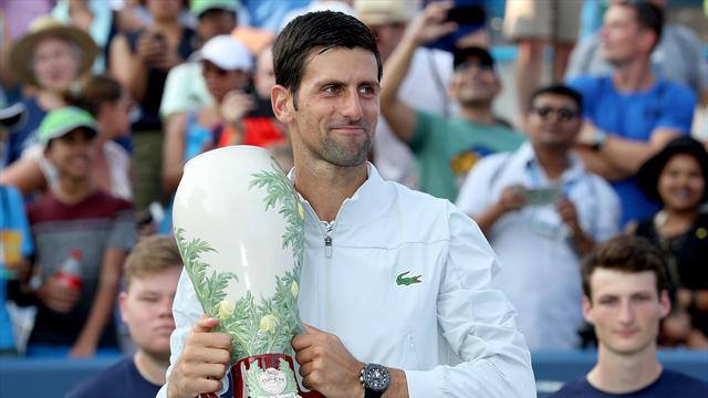 Djokovic completes Masters set with victory over Federer in Cincinnati
