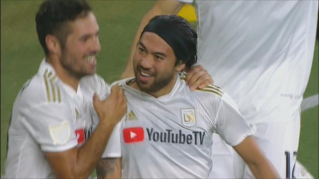 Los Angeles FC continue d'avancer