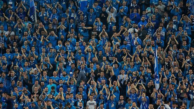 «Зенит» едва  спасся вдомашнем матче с«Краснодаром»