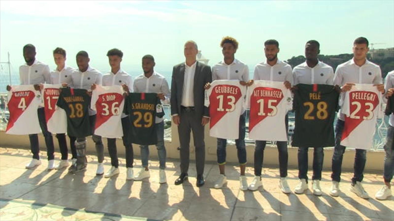 Maillot THIRD AS Monaco Antonio BARRECA