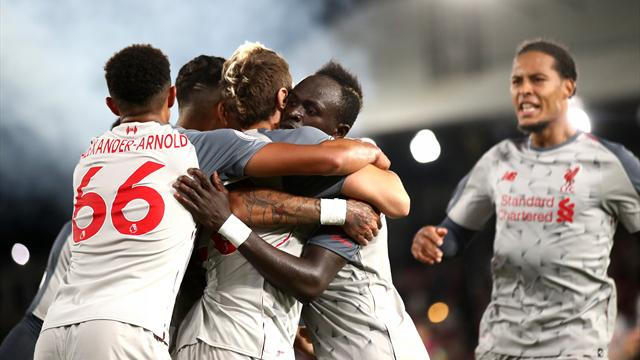 Milner and Mane give Liverpool win over 10-man Palace