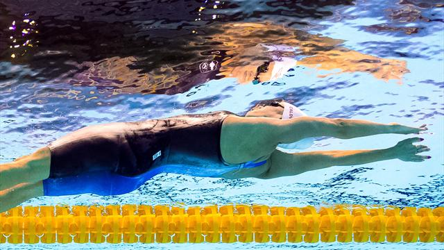 Liu Xiang établit un nouveau record du monde sur 50m dos !