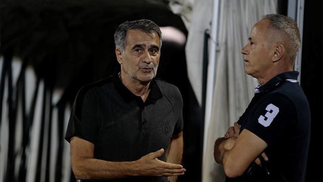 Prekazi, Beşiktaş antrenmanında