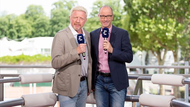 Die US Open mit deutschem Experten-Doppel exklusiv bei Eurosport