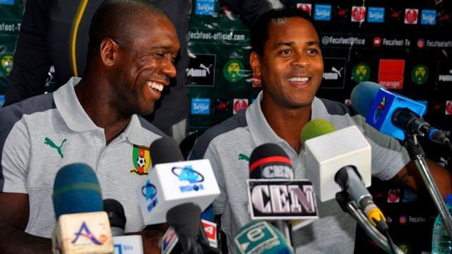 """Camerun, il monito di Seedorf e Kluivert: """"Niente Nazionale se giochi in Cina"""""""
