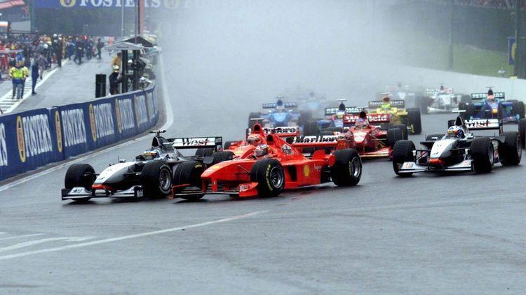 Spa 1998 Schumacher Coulthard Und Das Schnellste Dreirad Der Welt