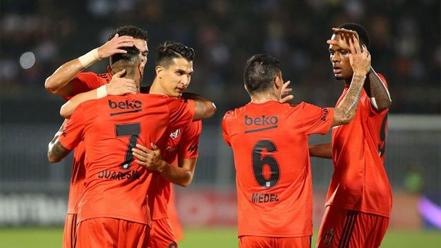 Beşiktaş, Belgrad'dan avantajla dönüyor