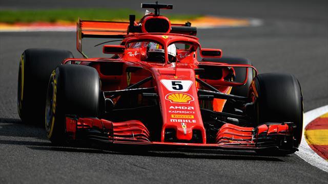F1, Hamilton in pole in Belgio. Vettel secondo tradito da pioggia
