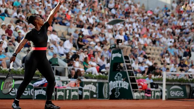 Serena Williams OK with French Open despite catsuit ban