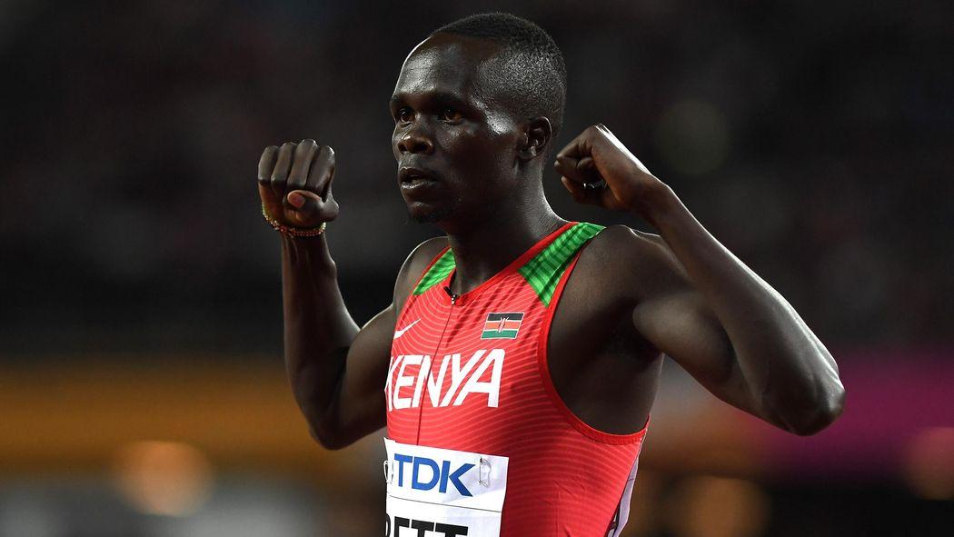 Kipyegon Bett Latest Kenyan Athlete To Test Positive For Epo Athletics Eurosport