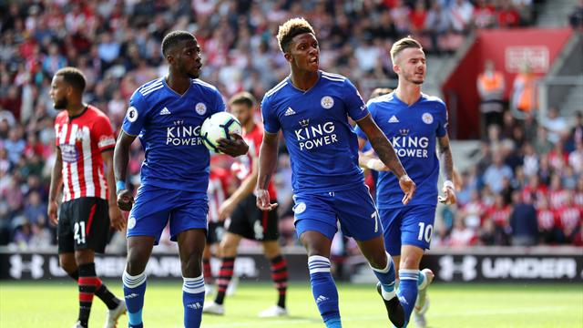 Southampton vs. Leicester City - Football Match Report