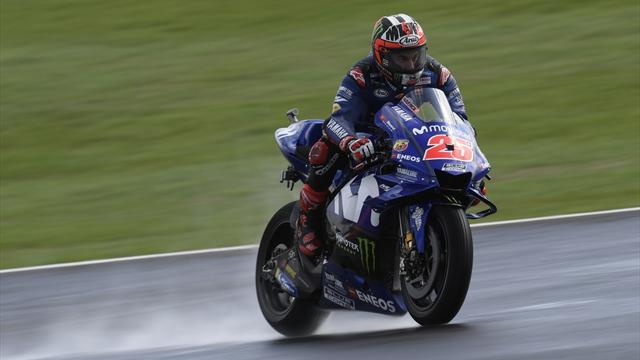 Pas de course à Silverstone en raison de la pluie — Moto