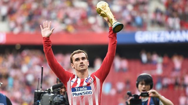 L'Atlético au chevet de Griezmann, non-sélectionné pour être joueur de l'année